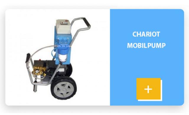 Chariot mobilpump