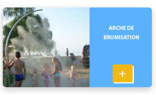 Arche de brumisation