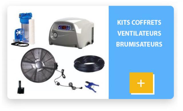 kit ventilateur brumisateur coffret