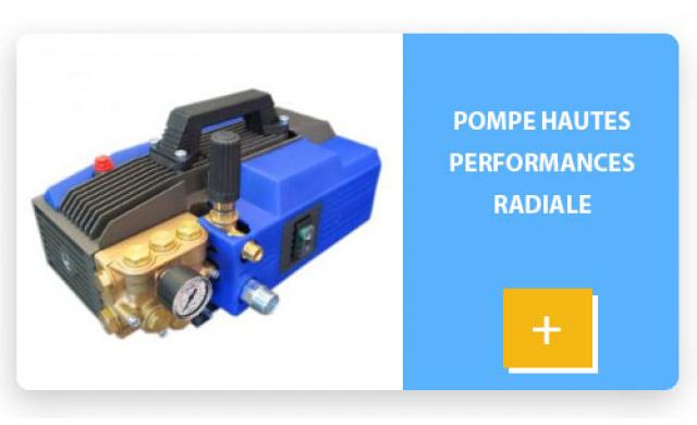 Pompe hautes performances radiale